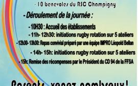 Journée découverte du rugby